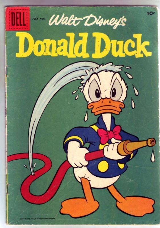 Donald Duck #60 (Jul-58) FN Mid-Grade Donald Duck