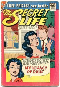 My Secret Life error printing copy- Silver Age Charlton romance G
