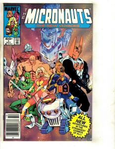 Lot Of 12 Comics The Micronauts # 1 2 6 7 8 14 15 16 17 18 19 20  WS2