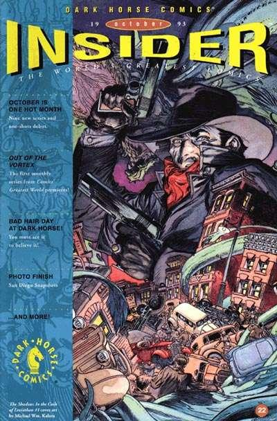 Dark Horse Insider (1992 series) #22, NM- (Stock photo)