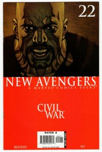 NEW AVENGERS #22 (VF) Civil War 1¢ auction! No Reserve!