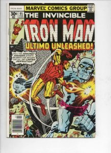 IRON MAN #95, VG/FN Tony Stark, Tuska, Ultimo, 1968 1976, more IM in store
