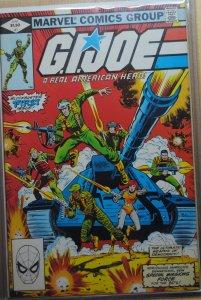 G.I. Joe: A Real American Hero #1 (1982) First Print !!