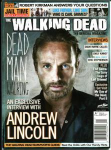 WALKING DEAD MAGAZINE #4, VF+, Zombies, Horror, Kirkman, 2012, more in store