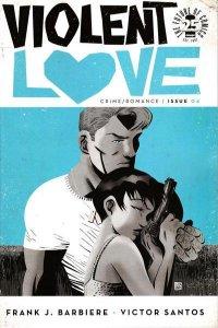 Violent Love #4, VF- (Stock photo)