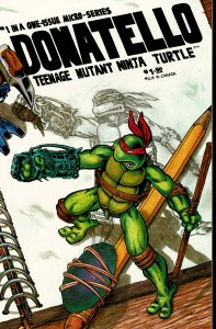 Donatello Teenage Mutant Ninja Turtles #1 - NM - 1986 Mirage Studios