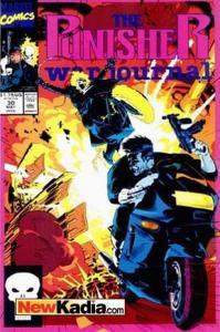 Punisher War Journal (1988 series) #30, NM (Stock photo)