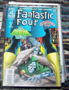 Fantastic Four #409 (Feb 1996, Marvel) DOCTOR DOOM STRANGE DAYS hyperstorm