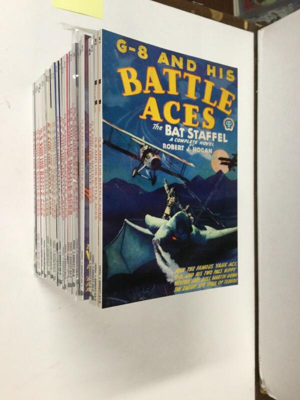 G-8 And His Battle Aces pulp reprint First Adventure House 1-27 Near Mint P15