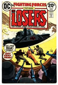 OUR FIGHTING FORCES #146 1973-DC-THE LOSERS-CAPT STORM-JOE KUBERT vf-