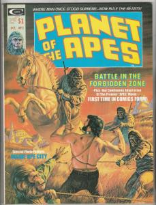 Planet of the Apes Magazine #2 (Oct-74) NM/NM- High-Grade