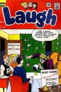 Laugh Comics #170, Fair+ (Stock photo)