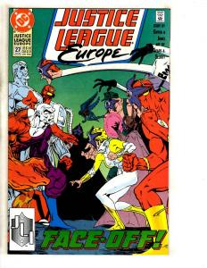 9 Justice League DC Comic Books Europe 27 28 29 30 31 32 Annual 1 2 Special1 JC3