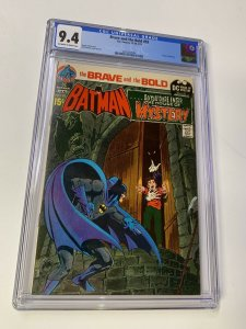 Brave And The Bold 93 Cgc 9.4 Ow/w Pages Batman House Of Mystery Dc Comics