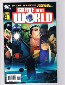 Brave New World #1 NM DC Comics Comic Book JLA Superman Batman DE28