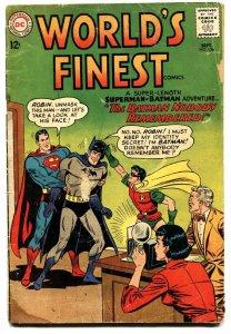 WORLDS FINEST #136 comic book 1962-DC COMICS-BATMAN-SUPERMAN-ROBIN
