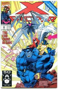 X-Factor #65 1991- 1st appearance of GAUNTLET NM-