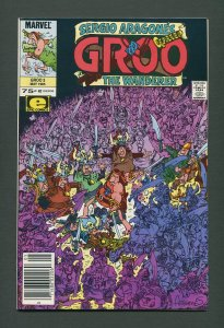 Groo The Wanderer #3  / 9.4 NM  / Newsstand /  May 1985