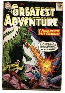 My Greatest Adventure #49 1960-DC-Last Dragon-sci-fi-10¢ cover price-VG