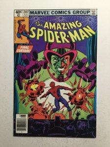 Amazing Spider-Man 207 Near Mint Nm Newsstand Edition Marvel