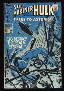Tales To Astonish #98 FN 6.0 giant ant man hulk