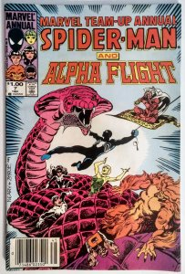 Marvel Team-Up Annual #7 (VF-, 1984)NEWSSTAND