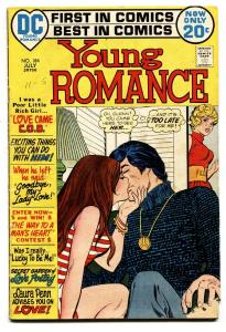 Young Romance #184 comic book romance 1972- DC-lingerie panels-