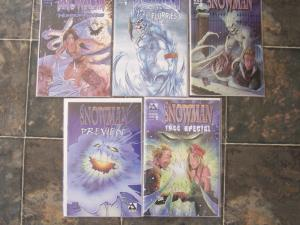 Snowman Specials Lot of 5 Avatar Comics NM