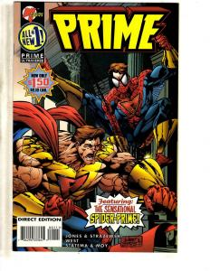 Lot Of 11 Prime Malibu Comic Books # 1 2 3 4 5 6 7 8 9 10 11 CR29