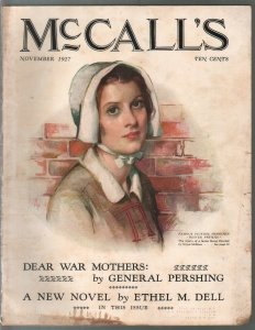 McCall's 11/1927-Hester Prynne cover by Meysa McMein-pulp fiction-Gen Pershing-G