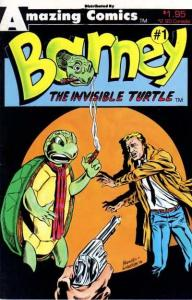 Barney the Invisible Turtle #1, VF+ (Stock photo)