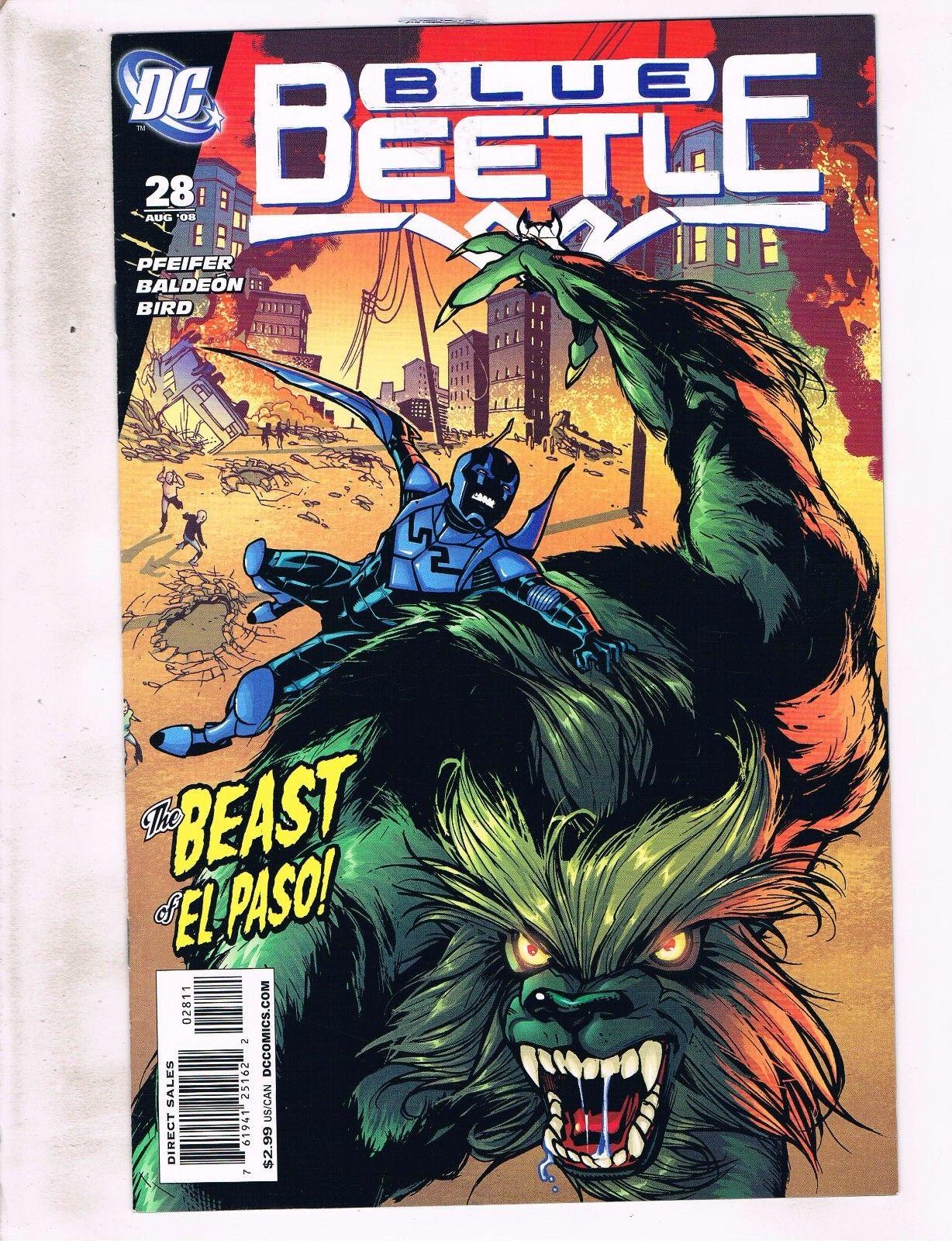 BLUE BEETLE #3 COMIC DC 2016 1st Print