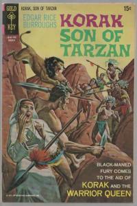 KORAK SON OF TARZAN 40 VG+ Mar. 1971