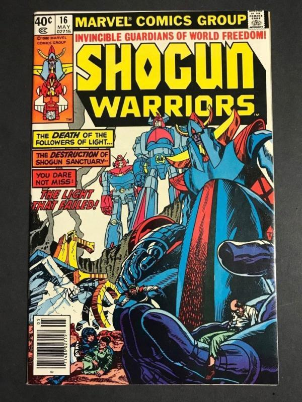 SHOGUN WARRIORS #16, VF/NM, Herb Trimpe, Mattel, Marvel, 1978 1980  more in stor