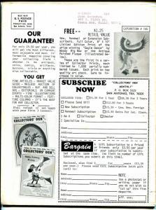 Collector's Den 3/1971-sale ads-comic books-Harrison original comic strip-VG