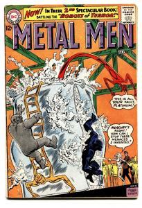 METAL MEN #2 comic book-SILVER AGE-DC-ANDRU-ESPOSITO