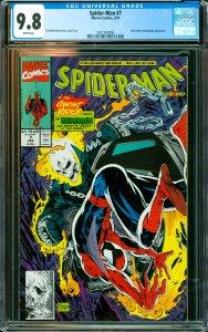 Spider-Man #7 CGC Graded 9.8 Ghost Rider & Hobgoblin appearance.