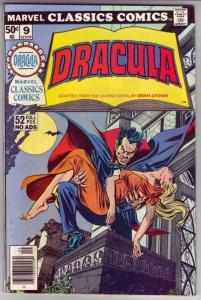 Classics Comics, Marvel #9 (Jan-76) NM- High-Grade Dracula, Van Helsing, Jona...