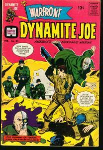WARFRONT #39 DYNAMITE JOE LONE TIGER WALLY WOOD ART '67 VG