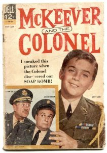 McKeever And The Colonel #2 1963- Dell TV comic- reading copy