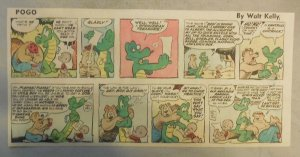 Pogo Sunday by Walt Kelly from 3/23/1958 Third Page Size!