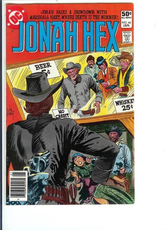 Jonah Hex #44 - Bronze Age - (VF+) Sept. 1981