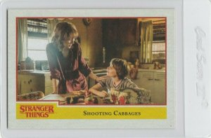 Stranger Things Shooting Cabbages 61 Topps Netflix 2018 Season One trading card