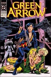 DC GREEN ARROW (1988 Series) #32 VF/NM