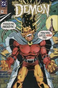 DC THE DEMON (1990 Series) #18 NM