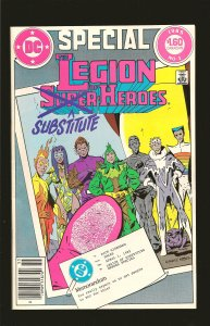 DC Comics Special The Legion of Substitute Heroes No 1 1985
