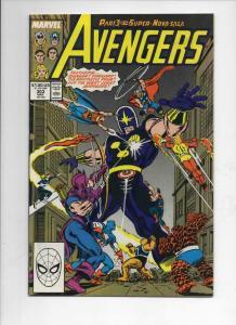 AVENGERS #303, NM-, Captain America, Thor, Nova, 1963 1989, more Marvel in store