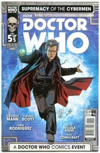 DOCTOR WHO Supremacy of the CYBERMEN 5 A, NM, Tardis, 2016, 1st,more DW in store