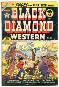 Black Diamond Western #22 1951- Candian variant- Wolverton
