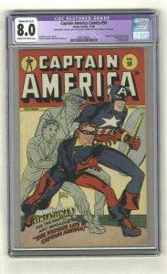 Captain America Comics #59 - CGC 8.0 - Timely Comics - 1946 - Syd Shores Cover!